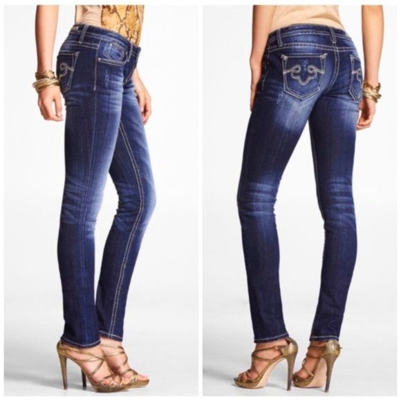 Rerock for Express Low Rise Skinny Jeans 6